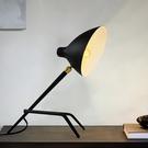 18PARK 康橋檯燈-扁罩(黑)含LED-5W黃光燈泡-生活工場
