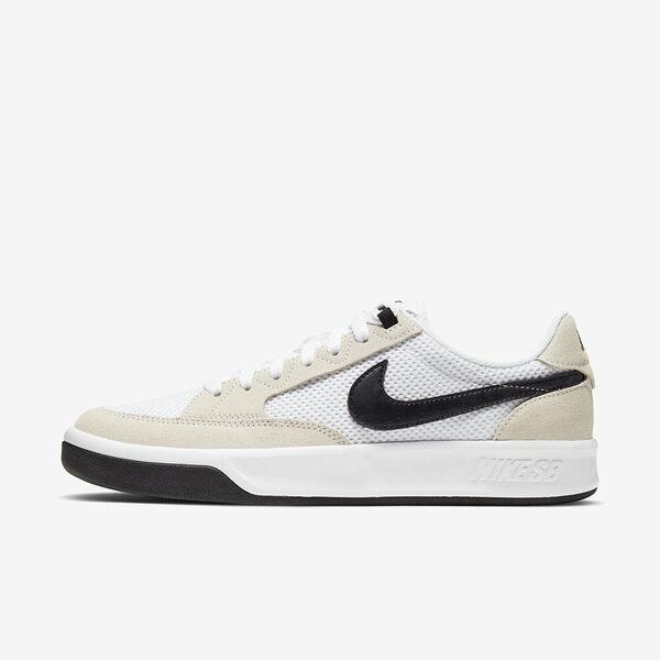 Nike Sb Adversary [CJ0887-100] 男鞋 運動 休閒 滑板 緩震 抓地力 麂皮 透氣 穿搭 白