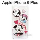 迪士尼透明軟殼 iPhone 6 Plus / 6S Plus (5.5吋) [圈圈] 米奇 米妮【Disney正版授權】