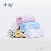 子初嬰兒紗布毛巾新生兒洗臉巾純棉柔軟寶寶小方巾兒童手帕口水巾「青木鋪子」