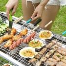 燒烤架 野外不銹鋼燒烤架戶外全套5人以上折疊碳烤肉爐子家用木炭燒烤爐