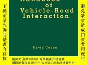 二手書博民逛書店Handbook罕見Of Vehicle-road Intera