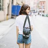 NewDawn單眼相機包微單斜跨三角攝影包佳能男女戶外單肩背包 雙十二全館免運