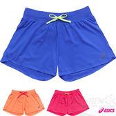 ASICS亞瑟士 女慢跑針織短褲(靛藍)