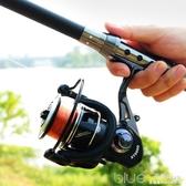 漁輪魚輪紡車輪全金屬漁線輪不銹鋼海竿輪魚線輪海桿輪遠投輪 深藏blue