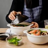 櫻花陶瓷砂鍋石鍋帶蓋家用燉鍋米線鍋蒸鍋煮方便面鍋高溫禮盒送禮-享家