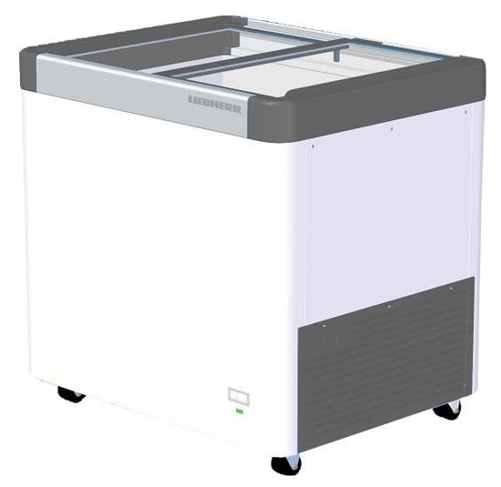 «免運費»德國利勃 LIEBHERR 2呎8 玻璃推拉冷凍櫃 212L EFE-2102【南霸天電器百貨】