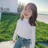 童裝2021秋裝新款女童洋氣純棉打底衫兒童長袖T恤寶寶上衣 童趣屋  新品