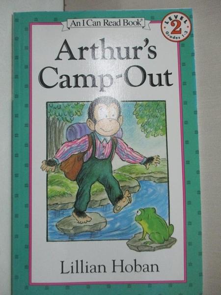 【書寶二手書T7/少年童書_GT5】Arthur's Camp-Out_Hoban, Lillian