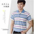【大盤大】(P75327) 男 條紋PO...