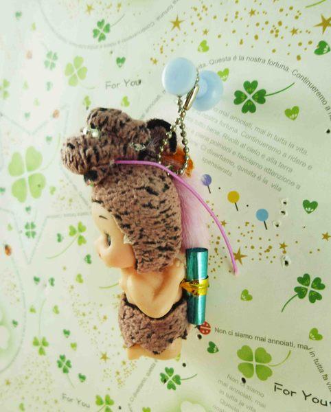 【震撼精品百貨】Q比_Kewpie~鎖圈-豹粉