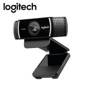 【Logitech 羅技】C922 PRO STREAM 網路攝影機 【加碼贈USB風扇】
