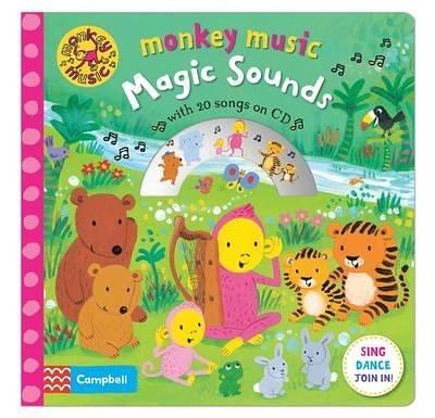 Monkey Music:Magic Sounds 猴子歡樂唱 精裝有聲CD書