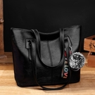 托特包 2018夏季新款托特女包休閒單肩包簡約大包包大容量女士時尚手提包