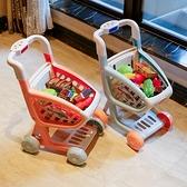 兒童家家酒男女孩玩具廚房套裝手小推車水果切切樂過家家 樂淘淘