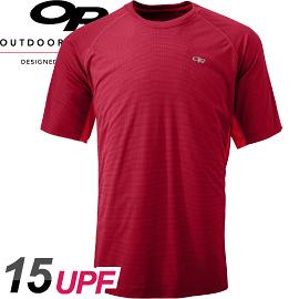 【Outdoor Research 美國 男款 MEN S Echo Duo Tee短袖排汗衣〈暗紅〉】242839/T恤/短袖上衣/排汗衣
