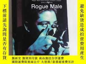二手書博民逛書店Rogue罕見Male 英文驚悚小說Y83259 Geoffre