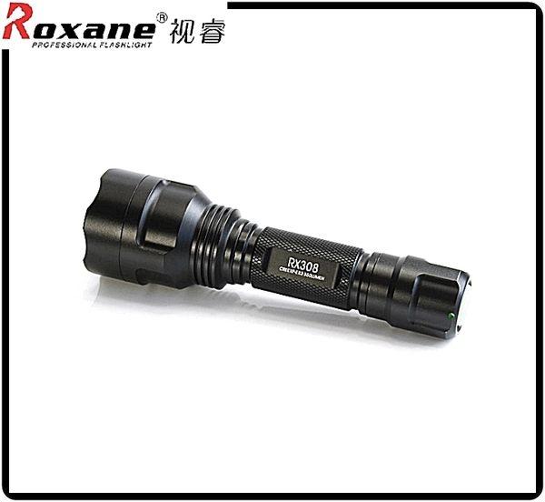 又敗家@Roxane美國Cree強光手電筒XPE-R3強光LED電筒RX308強光電筒IPx6防水電筒防暴電筒適登山