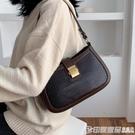 上新質感小包包洋氣女包2019流行新款潮韓版百搭斜背包時尚腋下包 印象家品
