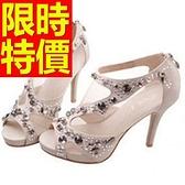 涼鞋-高跟經典質感好搭造型女休閒鞋56l75【巴黎精品】