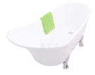 【麗室衛浴】國產 古典貴妃缸 M系列  140*62*68(54)CM 超值優惠回饋  含安裝~ H-194-1