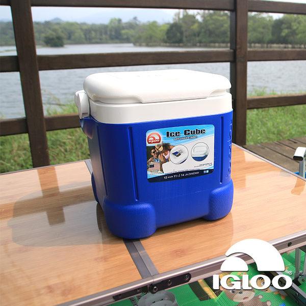IgLoo ICE CUBE系列12QT冰桶43058、32102 藍色/11L / 城市綠洲 (保鮮保冷、保冰、美國冰屋)