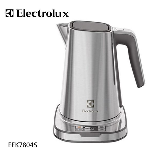 【買就送】Electrolux伊萊克斯 設計家系列 不鏽鋼溫控電茶壼.快煮壺 eek7804 / eek7804s