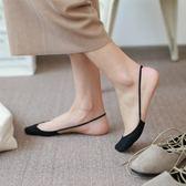 船襪女夏季薄款吊帶襪正韓純色簡約隱形襪性感不掉跟高跟鞋襪襪子【萬聖節88折