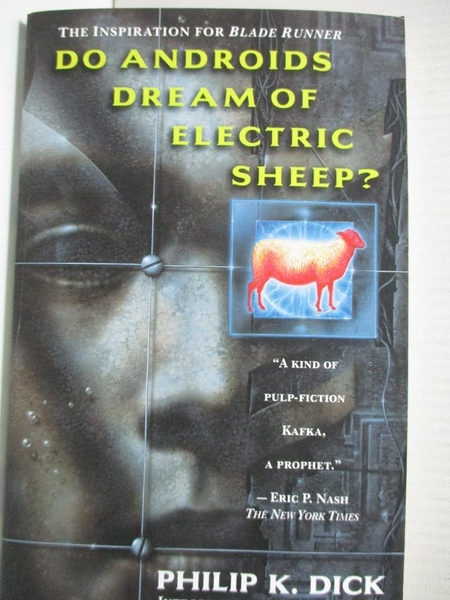 【書寶二手書T1/原文小說_GMZ】Do Androids Dream of Electric Sheep?_Dick, Philip K.