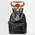 Faresio 復古輕便柔軟羊皮雙肩休閒百搭後背包