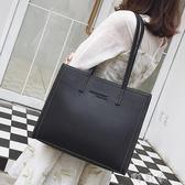 包包女上側背包女大包韓版時尚背包大容量手提托特包 交換禮物