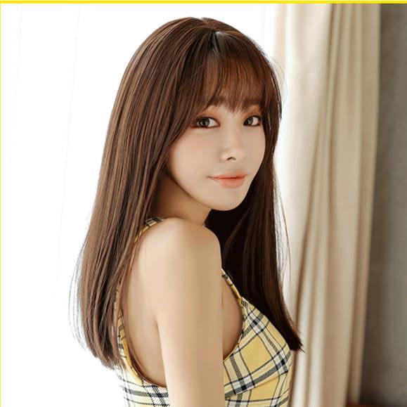 *╮Kinkee假髮╭*最新款 貼心妹子 中長髮 長髮 內彎 假髮【C8210】