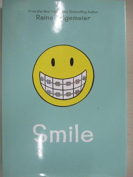 【書寶二手書T3/原文書_CUE】Smile_Telgemeier, Raina