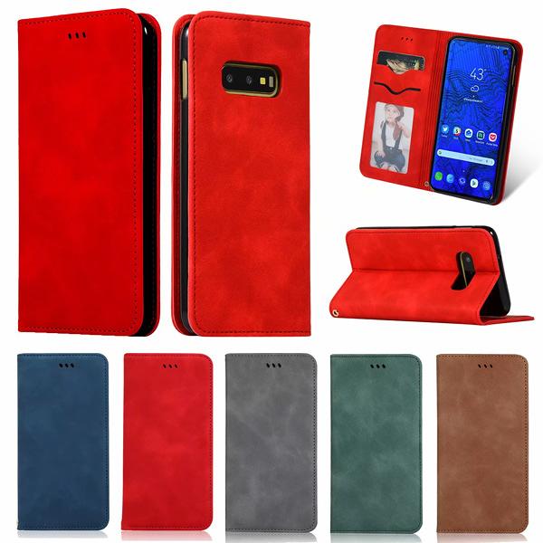 三星 S10 S10+ S10e S9 S9 Plus ZD商務皮套 手機皮套 插卡 支架 磁吸 掀蓋殼