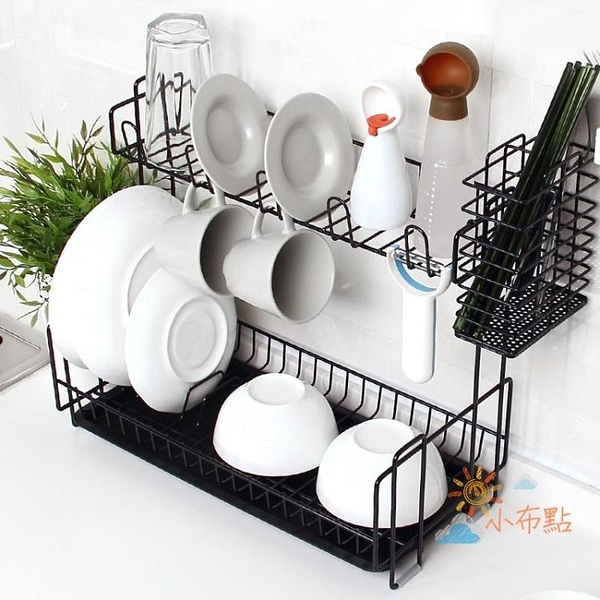 創意廚房瀝水架碗碟筷架水槽多層置物架整理收納架晾碗滴水架WY 【八折搶購】