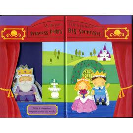 【麥克書店】PRINCESS POLLY'S BIG SURPRISE /我的磁鐵劇場遊戲