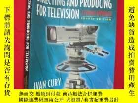 二手書博民逛書店Directing罕見and Producing for Tel