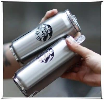 星巴克保溫杯不銹鋼 杯易拉罐【藍星居家】