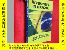 二手書博民逛書店Investing罕見in Brazil! What to Do