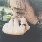 戒指:歐美旋轉鍊條男女情侶指環鈦鋼不褪色  【新飾界】