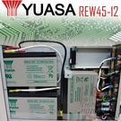 YUASA湯淺REW45-12防災及保全系統.電話交換機.通信系統.防災.保全.緊急照明裝置