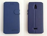 gamax InFocus M2 3G/M2 4G/M2 4G/M2+ 磁扣荔枝紋側翻式手機套 內TPU軟殼 全包防摔 商務二代 白色