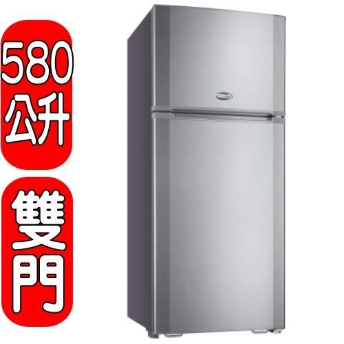 SANLUX台灣三洋【SR-A580B】580L雙門電冰箱