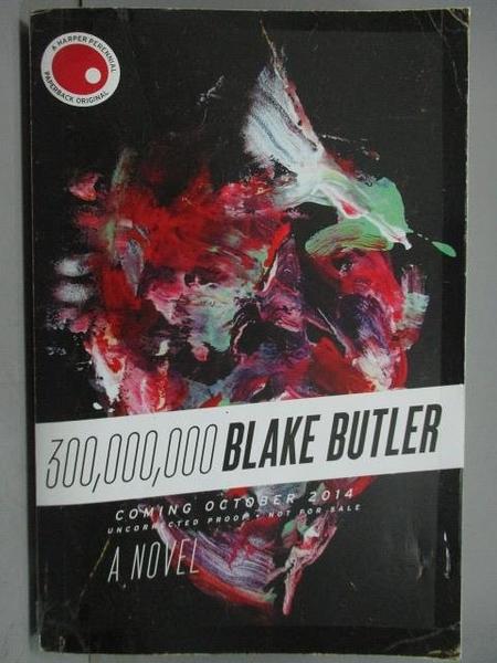 【書寶二手書T9/原文小說_YJZ】300000000Blake Butler