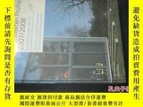 二手書博民逛書店Architekten罕見Profile 2007/2008建築