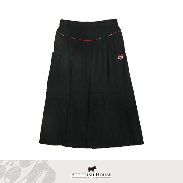 棉質素色中長裙 Scottish House 【AM2159】