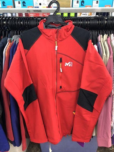 【L,XL零碼特價4折】法國 MILLET 男 軟殼衣 防風防水保暖外套/保暖夾克/機能外套 MIV6108