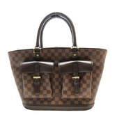 LOUIS VUITTON LV 路易威登 棋盤格雙口袋肩背包 Manosque GM N51120 【BRAND OFF】