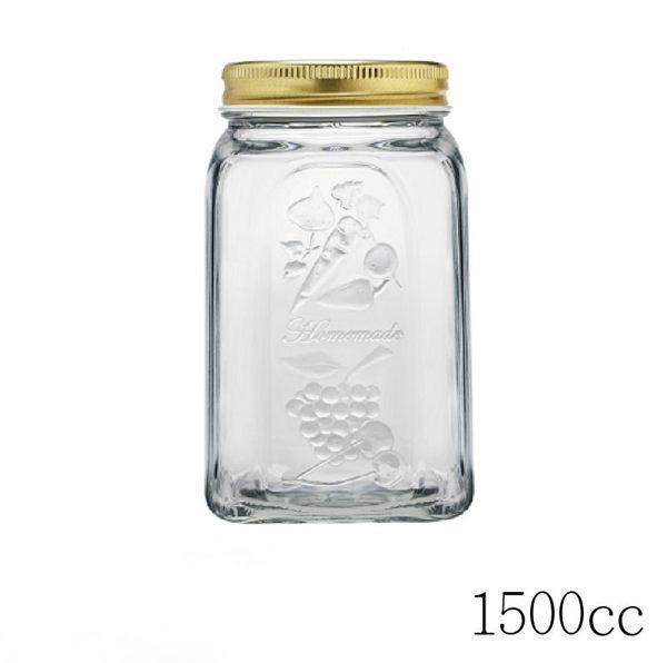 土耳其Pasabahce玻璃四季蔬果罐 (1500cc)