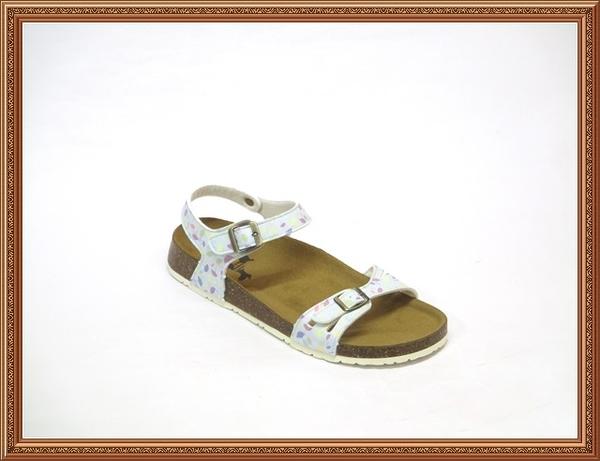 W8812 愛麗絲的最愛 MIT舒適透氣牛皮中底~Local Dog休閒潮流軟木涼鞋/平底涼鞋/勃肯涼鞋